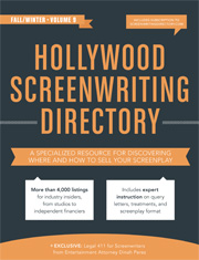 Hollywood Producers Directory Book Cover