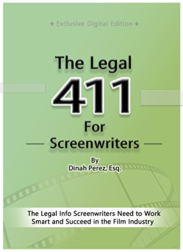 The Legal 411 for Screenwriters Book Cover